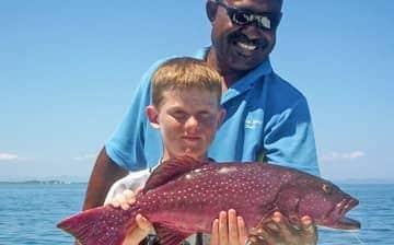 Fishing around Wadigi Island