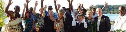 wadigi private island resort wedding ceremony