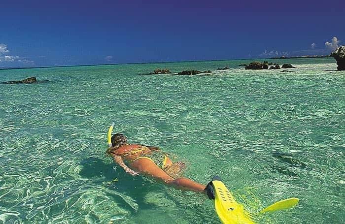 snorkeling wadigi island