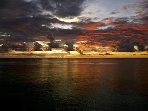 wadigi island sunrise