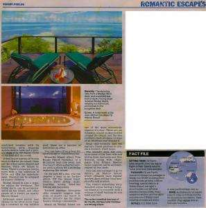 Sunday Mail Romantic Escapes P2